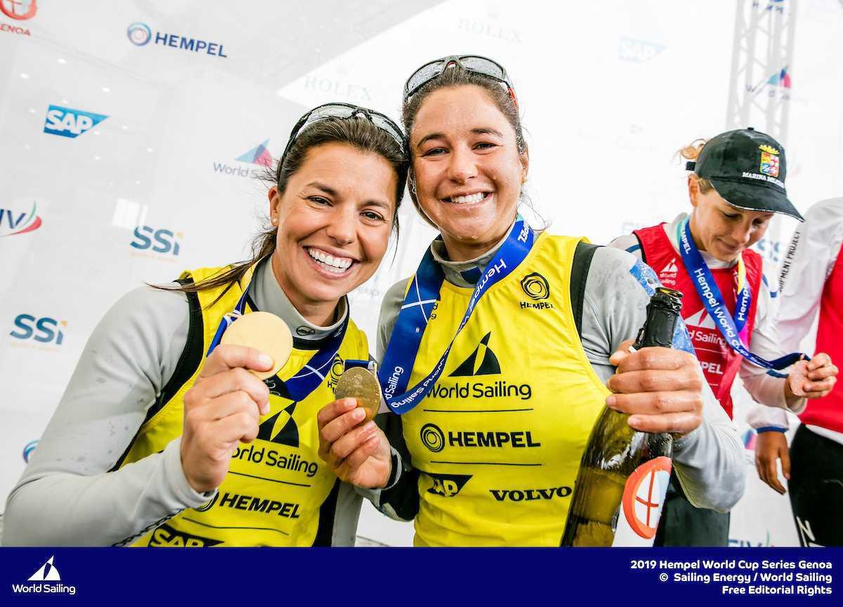 Ouros da Páscoa! Brasil campeão na 470 feminina e na Finn em Gênova