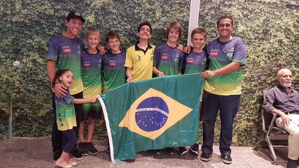 Equipe brasileira de Optimist estreia segunda-feira no Mundial