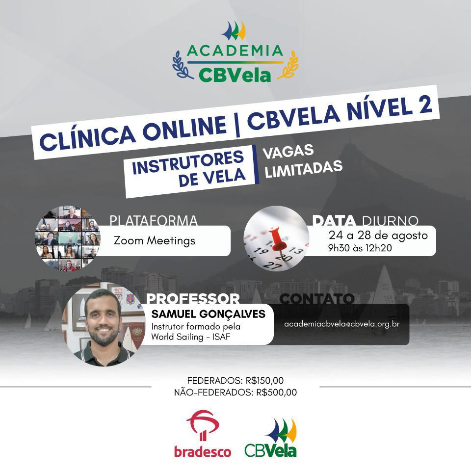 Turma 1 - Clínica Online de Instrutores de Vela