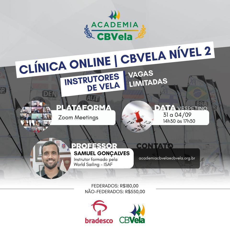 Turma 2 - Clínica Online de Instrutores de Vela