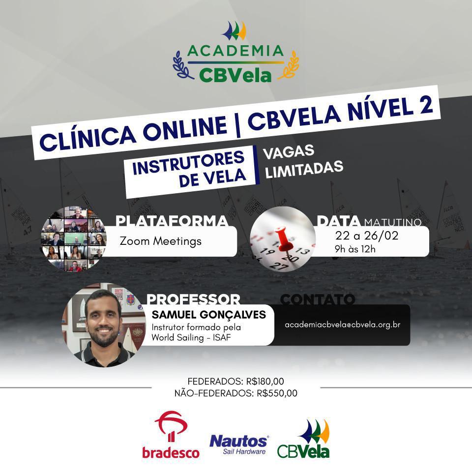 Turma 4 - Clínica Online de Instrutores de Vela