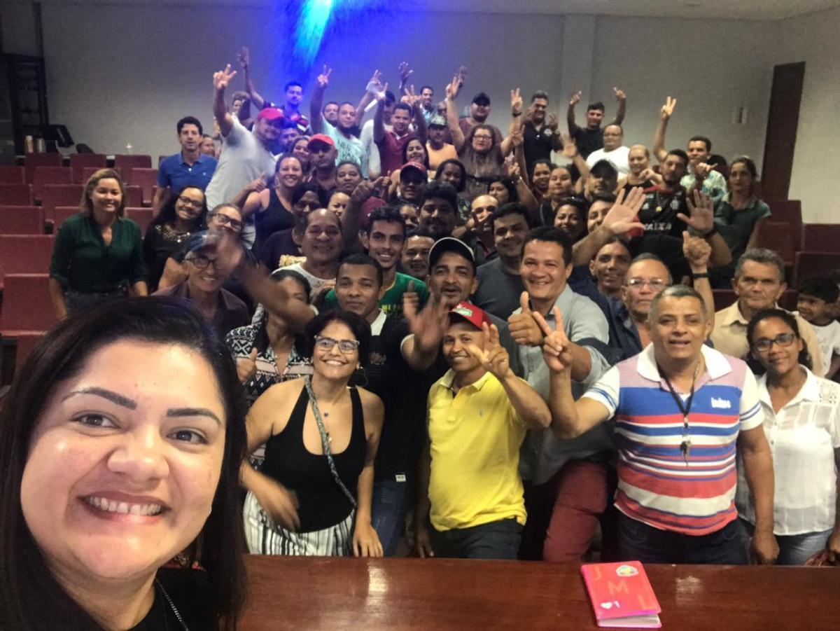 Reunião Joelma Leite