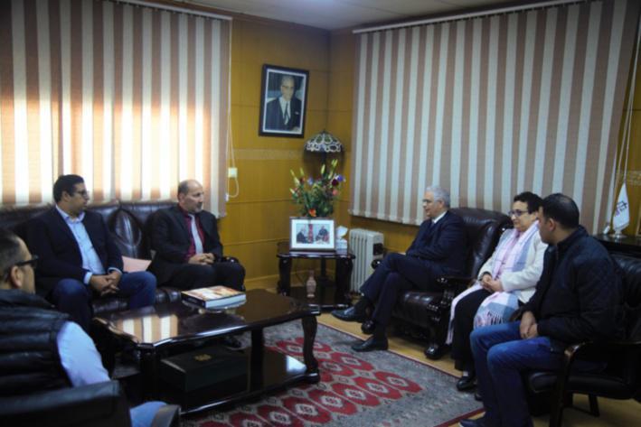 M. Nizar Baraka renouvelle le soutien du Parti de l'Istiqlal à la cause palestinienne