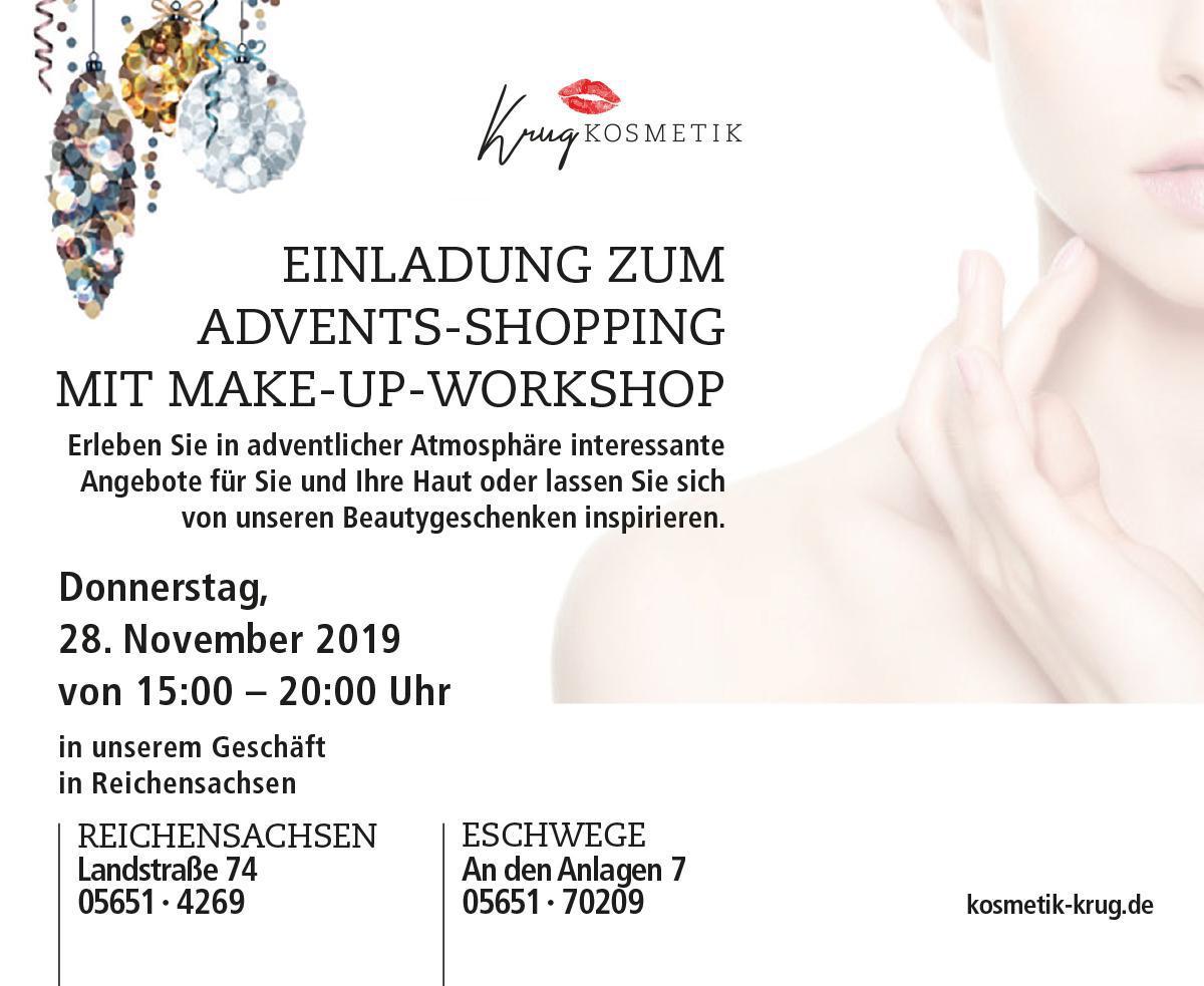 Einladung Advents-Shopping