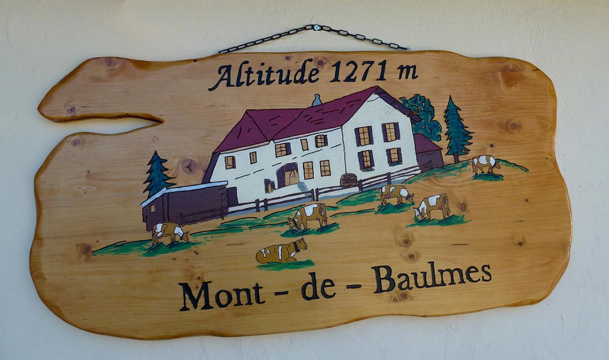 Chalet Mont-de-Baulmes