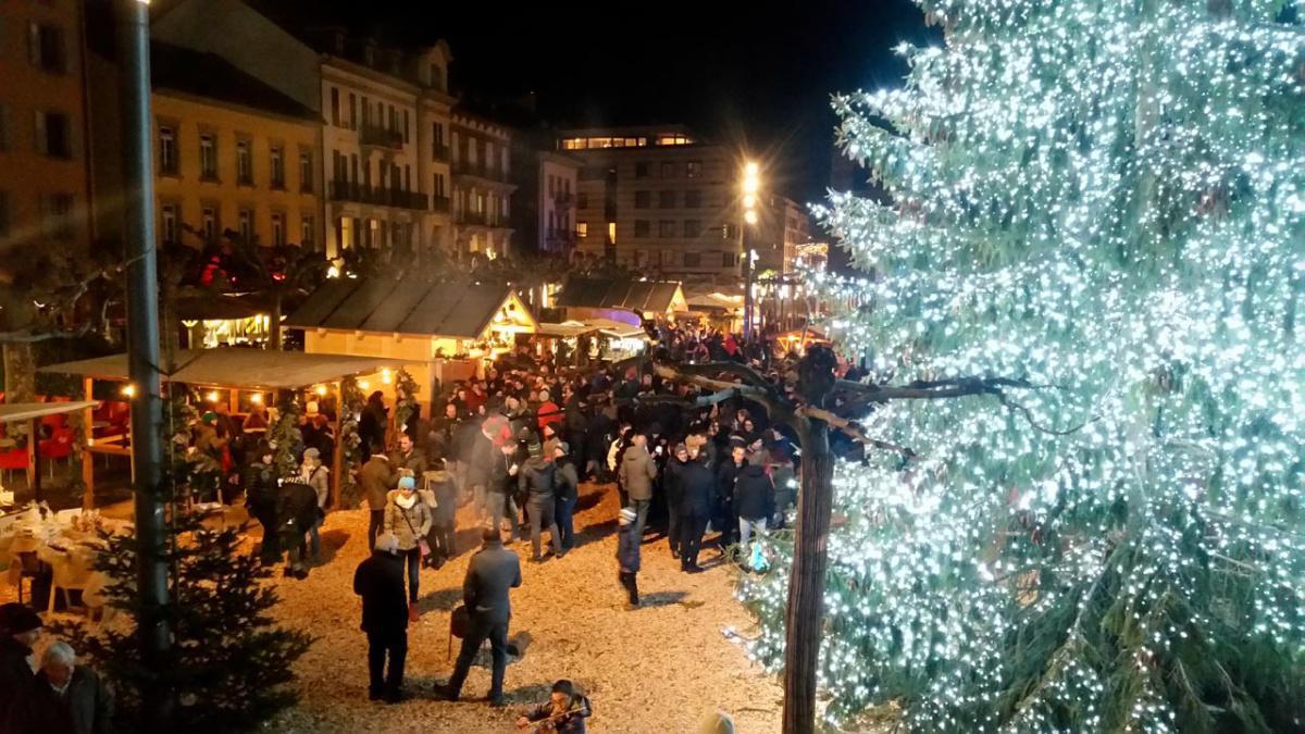 Mercatino di Natale in Martigny