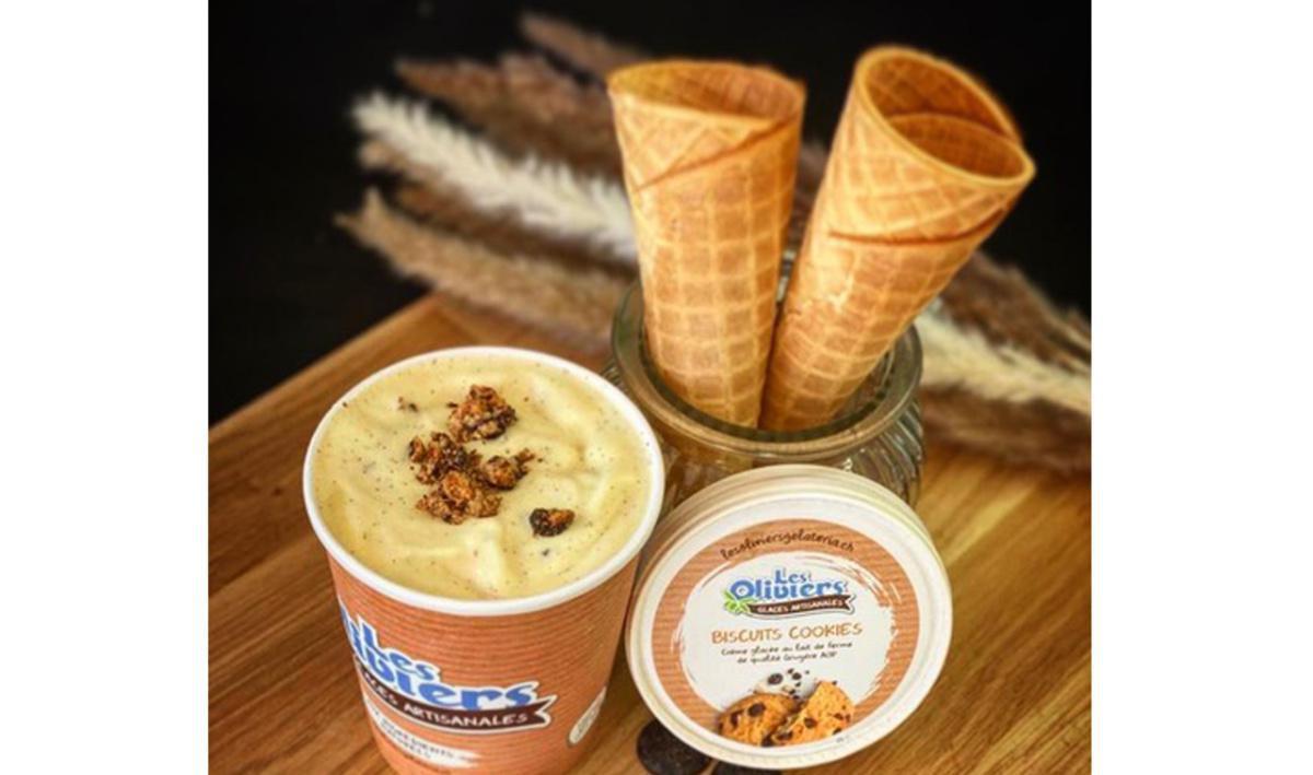 Les Oliviers, gelato artigianale