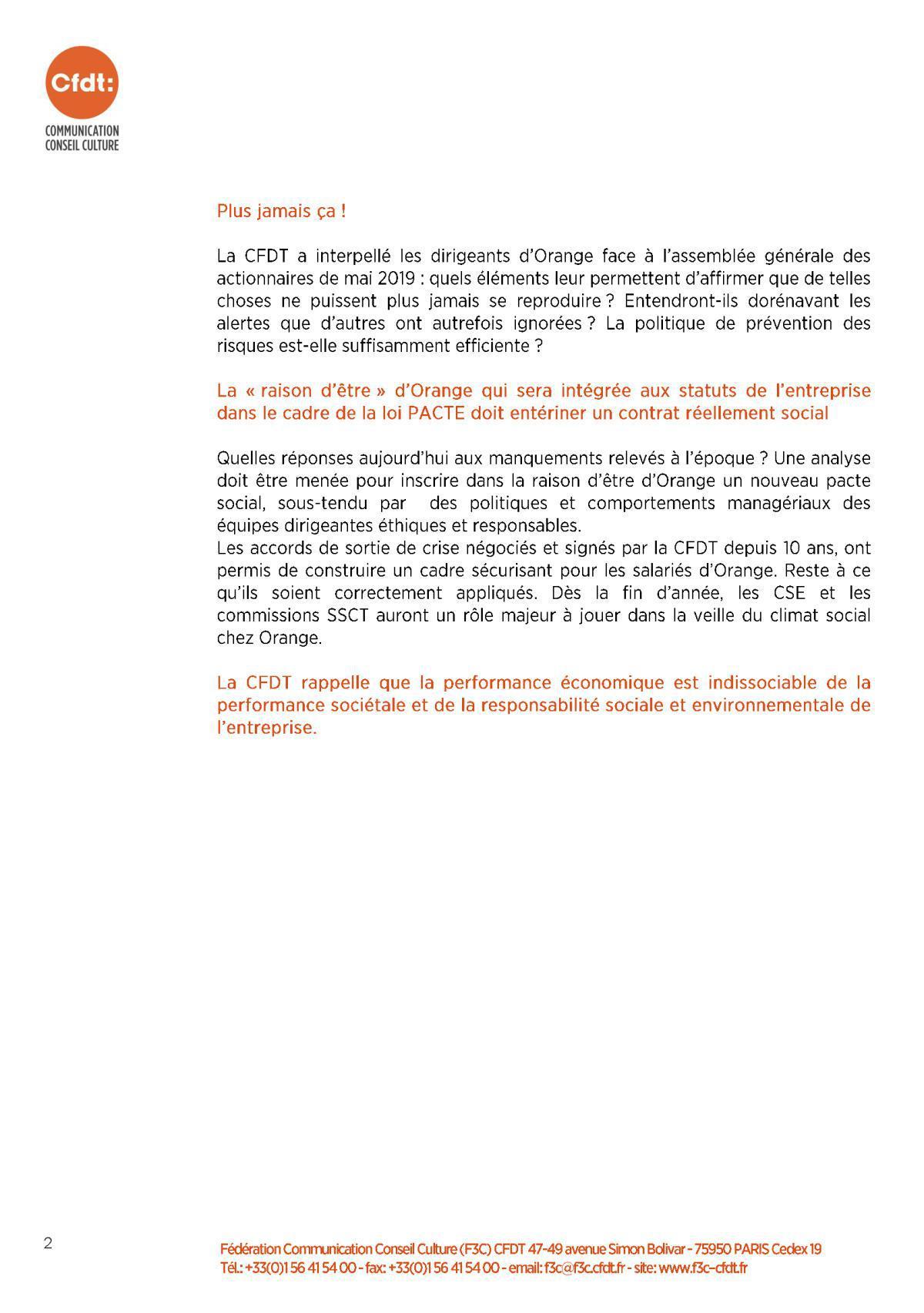 Fin du procès pénal France Télécom et ses ex dirigeants 11 juillet 2019
