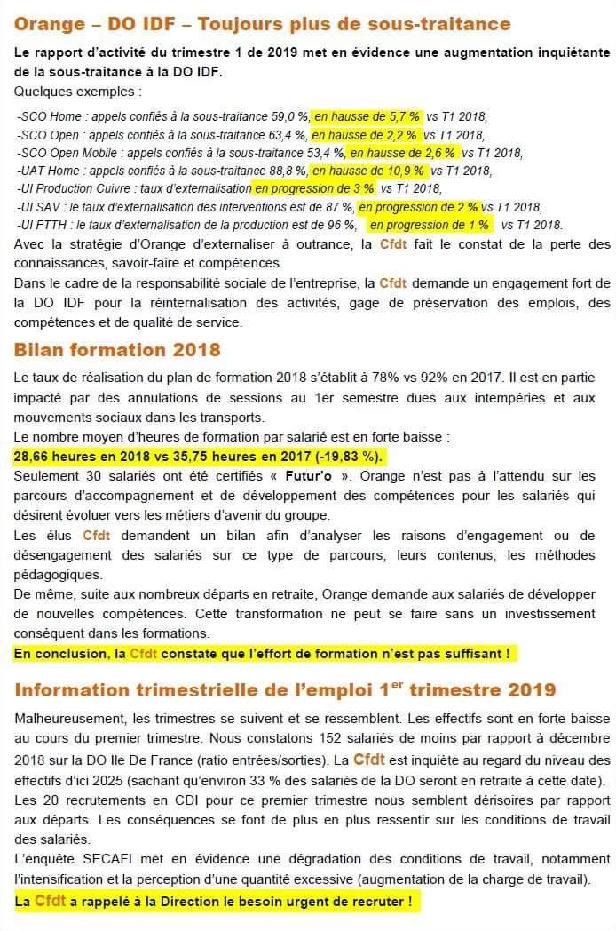 les news du CE aout 2019