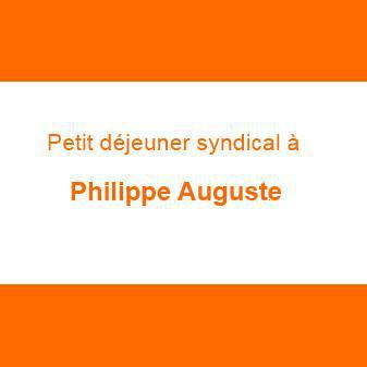 Petit déjeuner syndical à Philippe Auguste