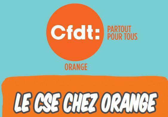 Mémo CFDT: Le CSE chez Orange Ed. 2019