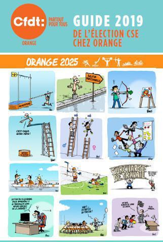 Mémo CFDT: nos revendications sur les thématiques qui vous concernent chez Orange