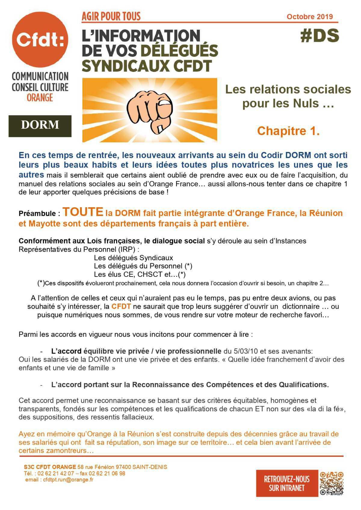 #DS - Les Relations Sociales pour les nuls