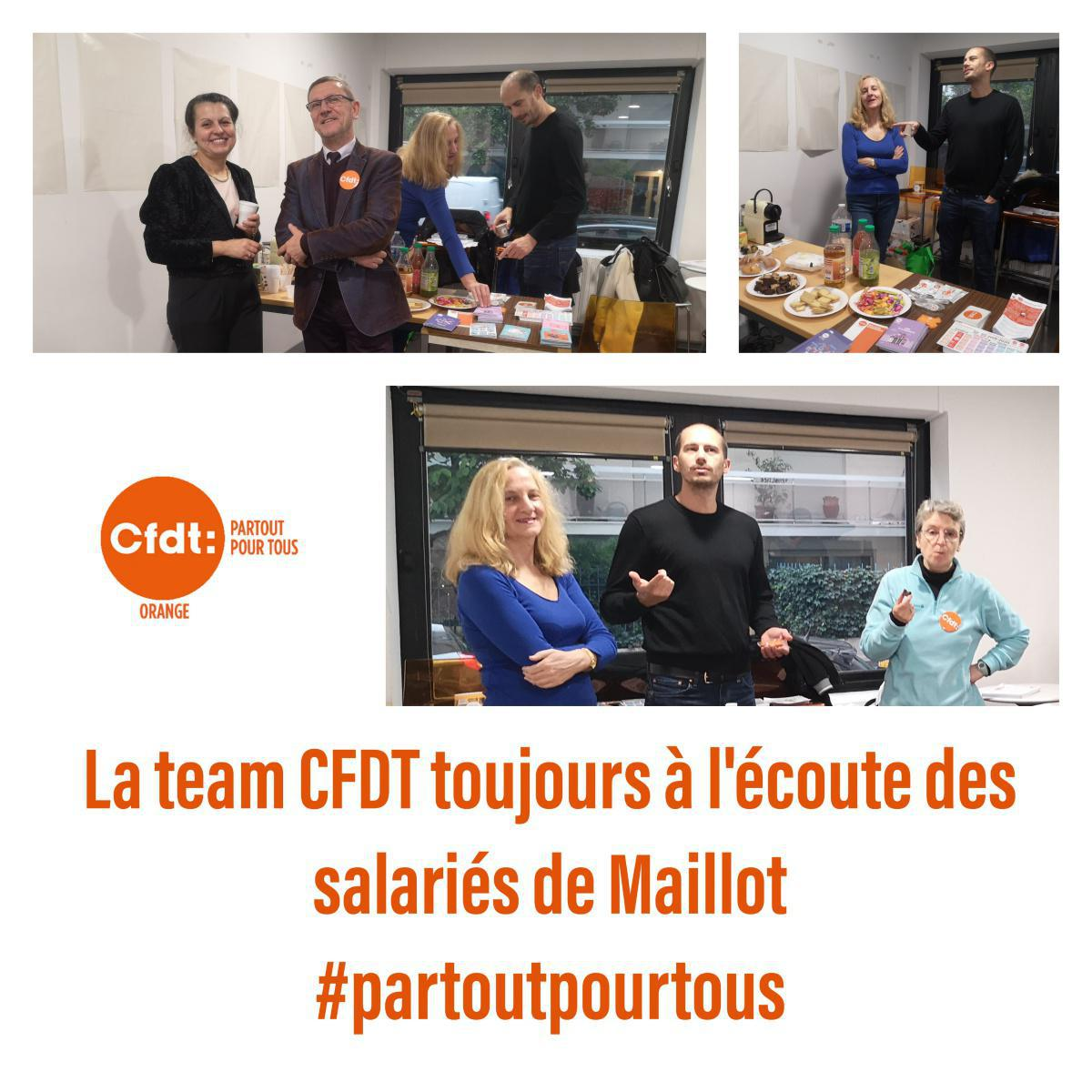 Maillot CFDT !