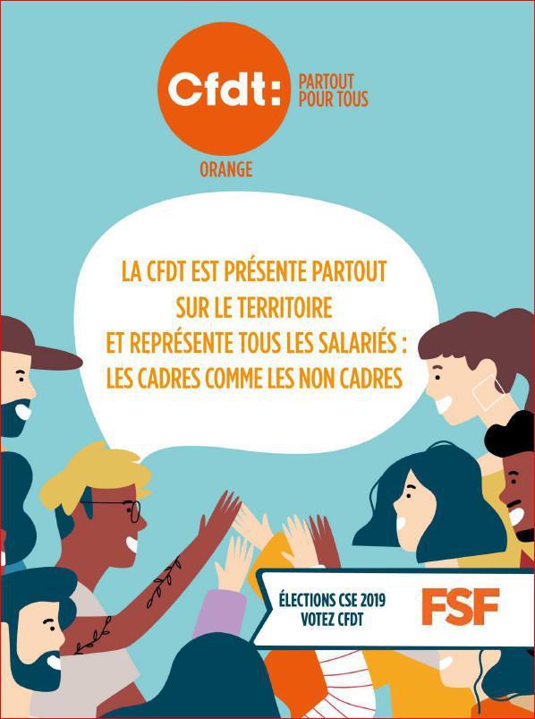 Vos candidats CFDT pour les élections CSE 2019