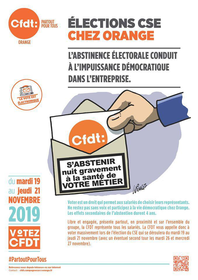 ELECTION CSE ORANGE