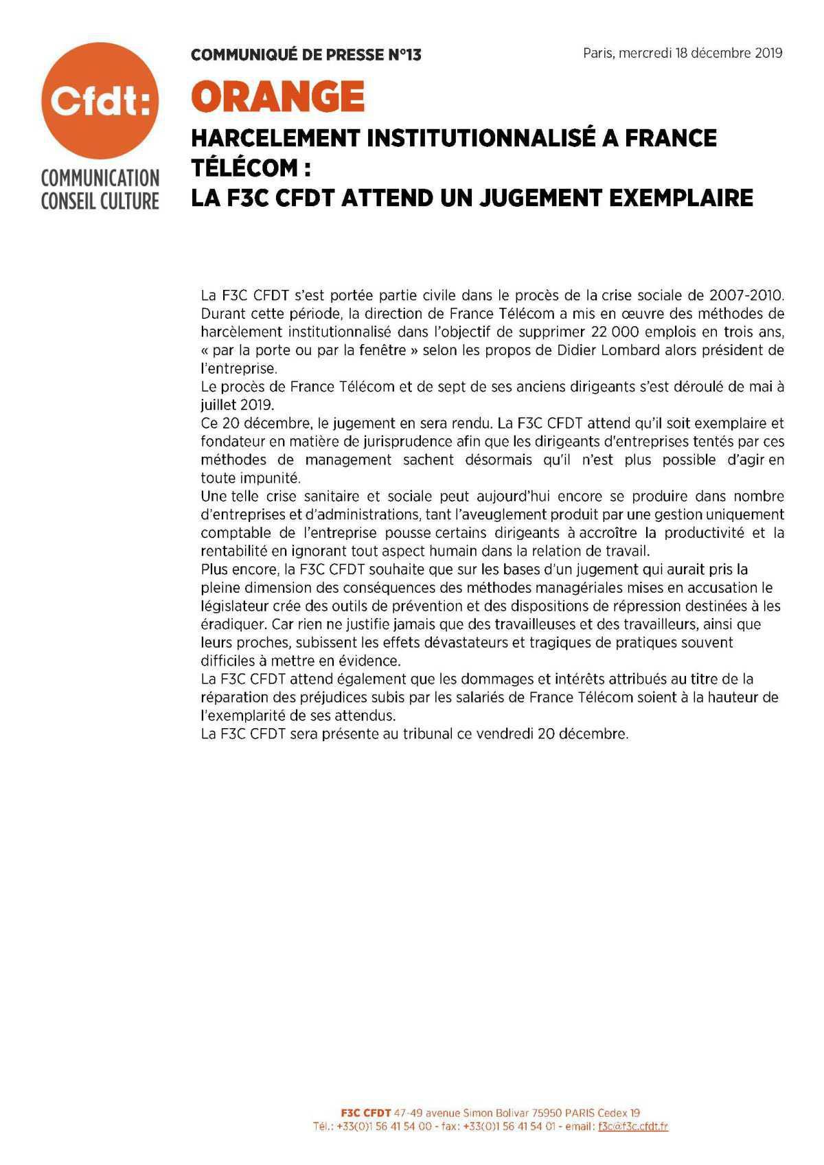 Jugement attendu le 20 décembre concernant le procès de la crise sociale