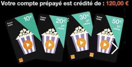 Grace à la CFDT votre compte VOD est crédité de 120€