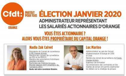 Election des administrateurs représentants les salariés actionnaires