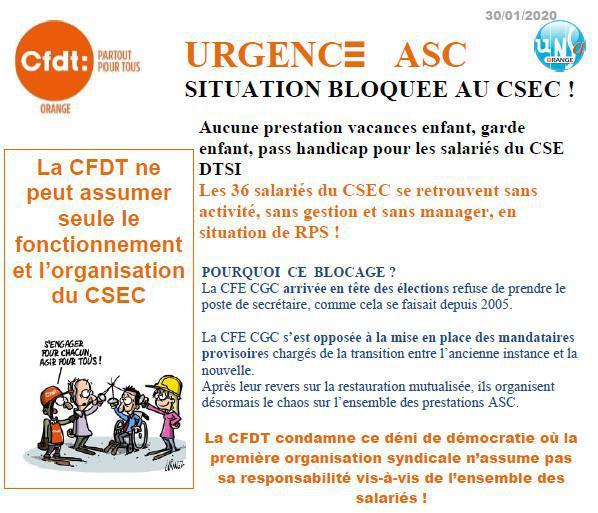 Urgence ASC