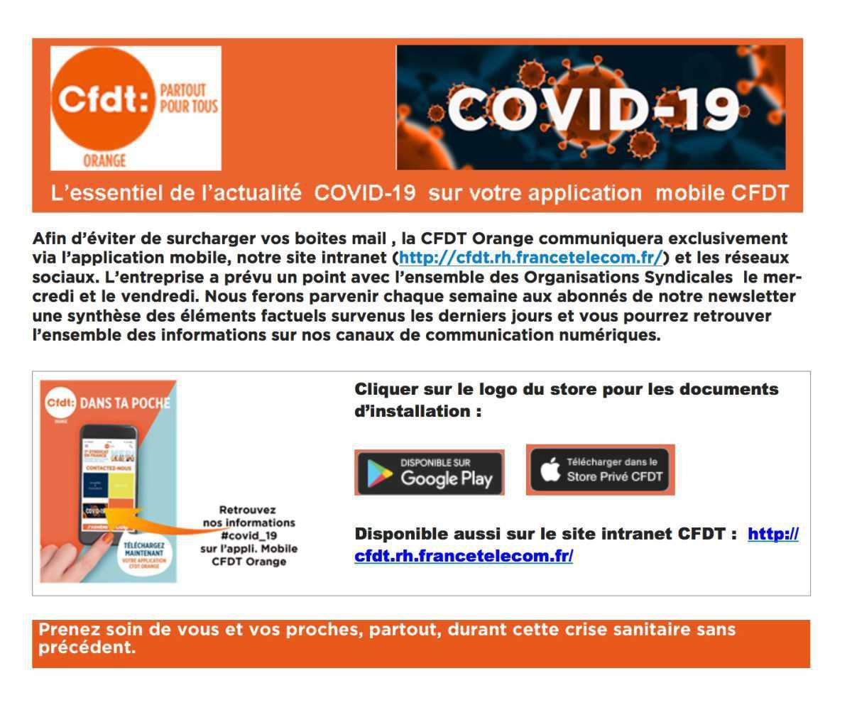 L'essentiel de l'actualité #COVID_19-Semaine 1
