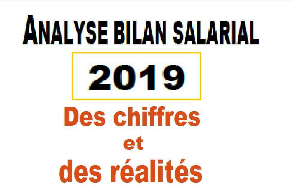 Bilan salarial 2019