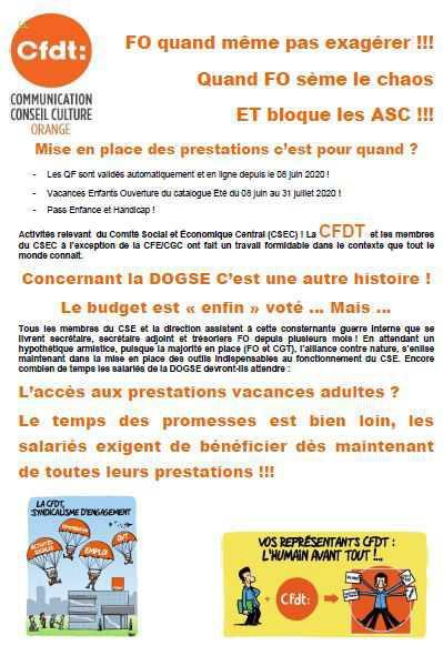 Blocage ASC - Quand FO sème le chaos !