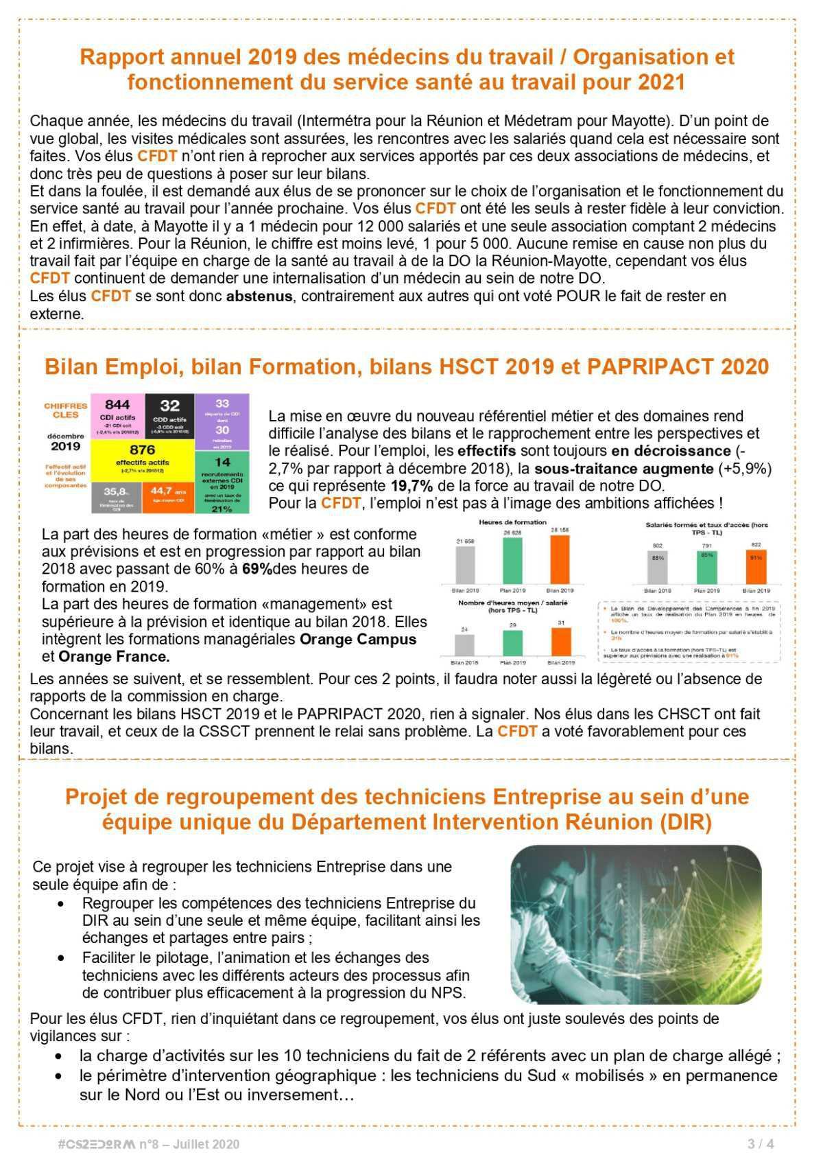 #CS2EDORM n°8 - TEC et la réorganisation de la DSI sous les feux de la rampe