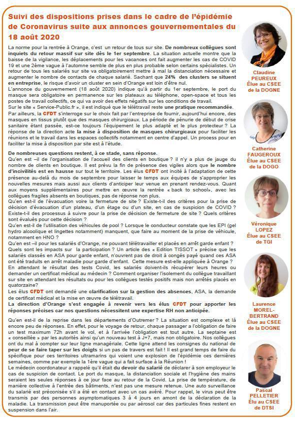 CSE Central n° 5 - Août 2020