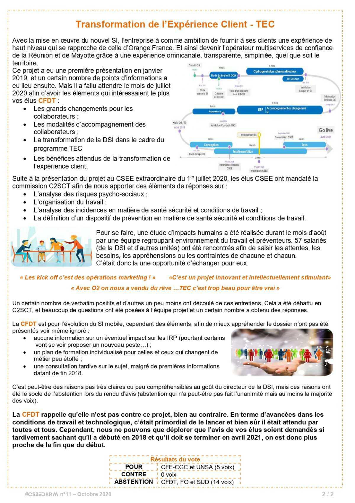 #CS2EDORM n°11 - Edition spéciale sur le projet TEC