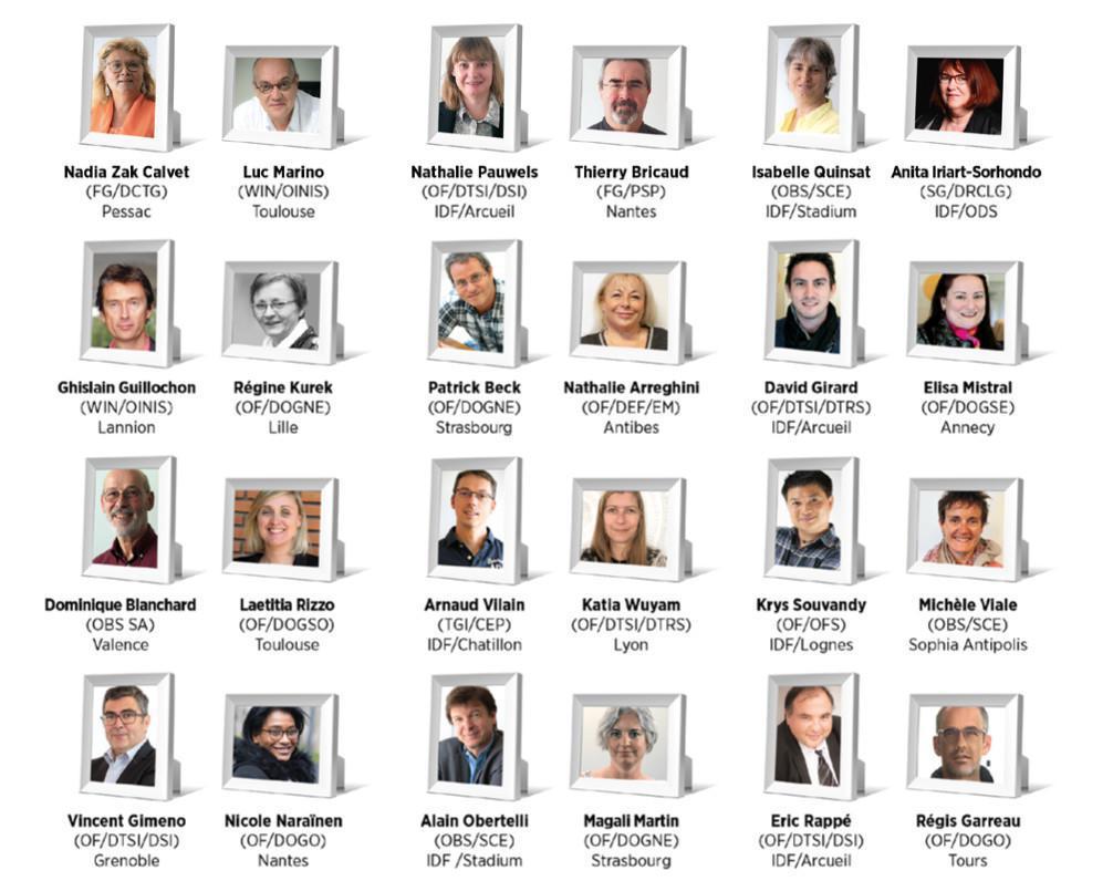 Notre liste paritaire de 24 candidats