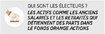 Election du Conseil de Surveillance du Fonds Orange Actions