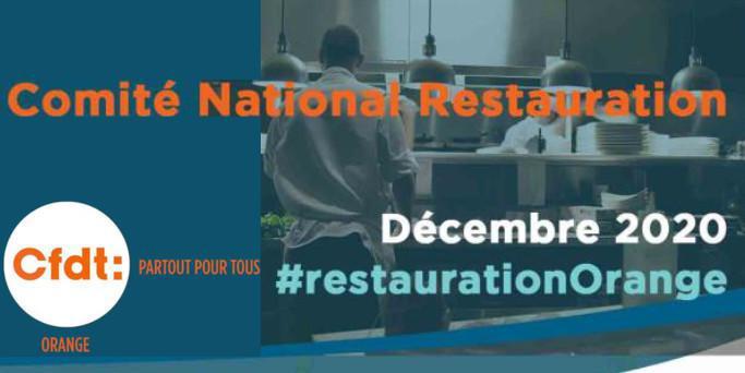 Télétravail & Restauration (Dec 2020)