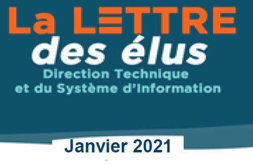 La lettre des élus CSE DTSI de janvier 2021 spéciale ASC
