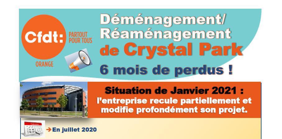 Déménagement de Crystal Park