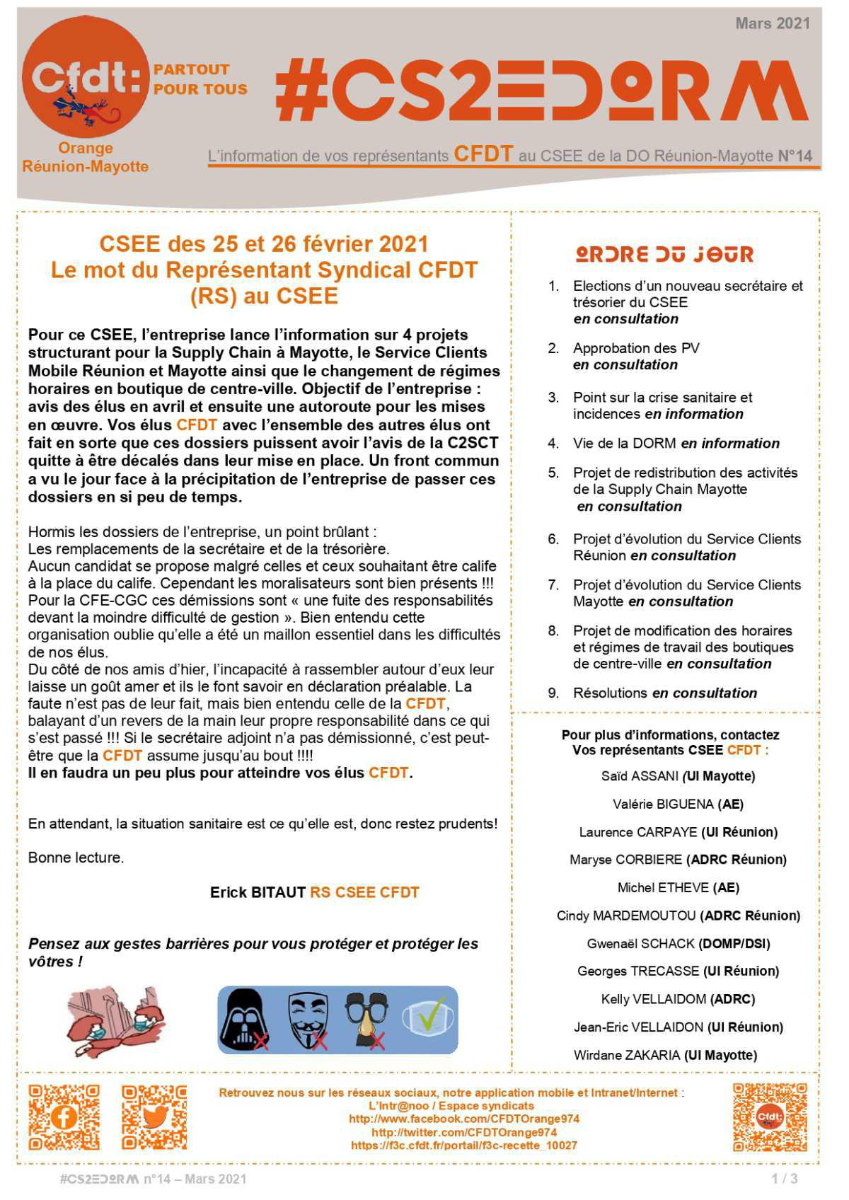 #CS2EDORM n°14 - CSEE des 25 et 26 février 2021
