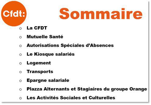 Bienvenue chez Orange SCE