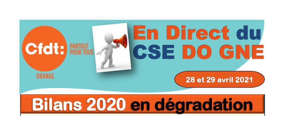 En direct du CSE Avril 2021