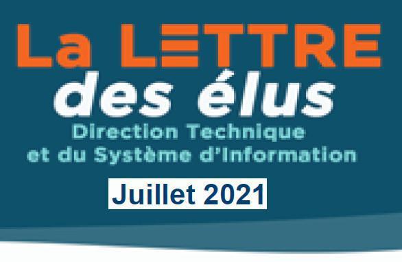 La lettre des élus CSE DTSI Juillet 2021