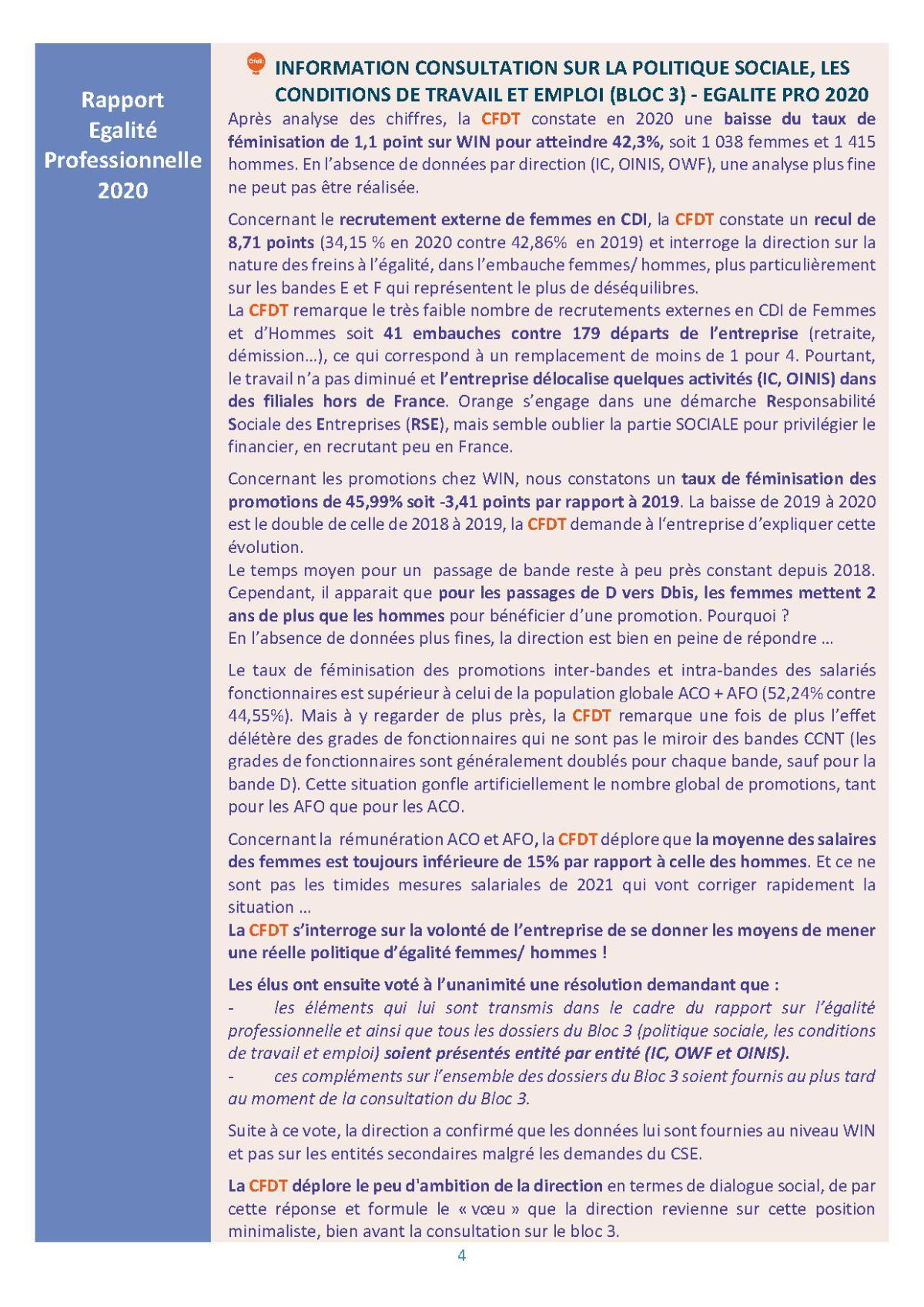 le fil d'actu du CSEE WIN - Juillet 2021