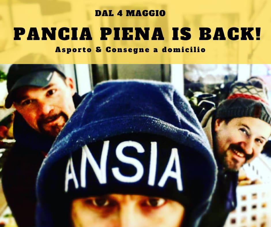PANCIA PIENA IS BACK !