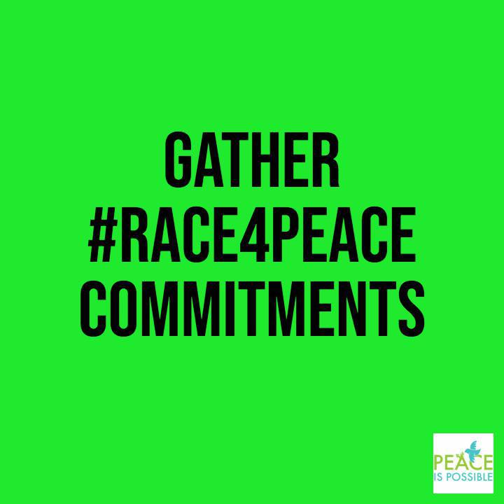 JOIN THE #RACE4PEACE