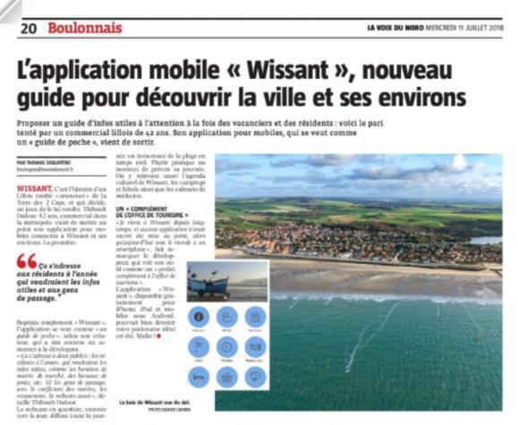 La Voix du Nord / Boulogne-sur-Mer
