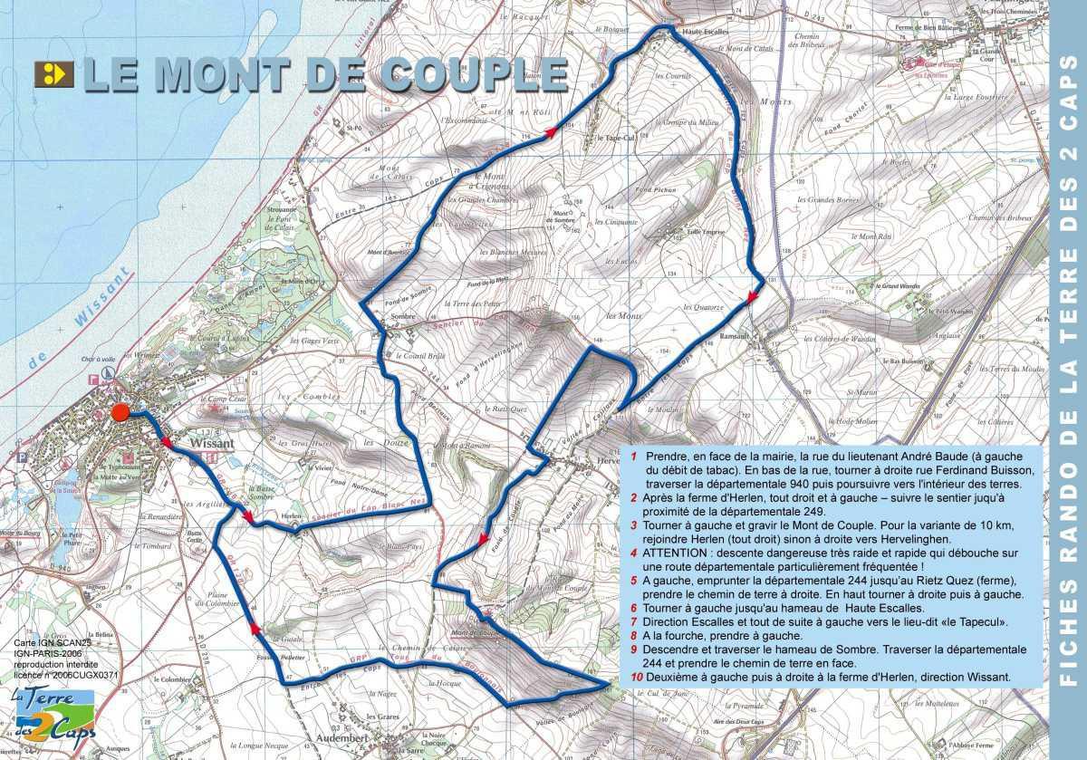 Le Mont de Couple (20 km)