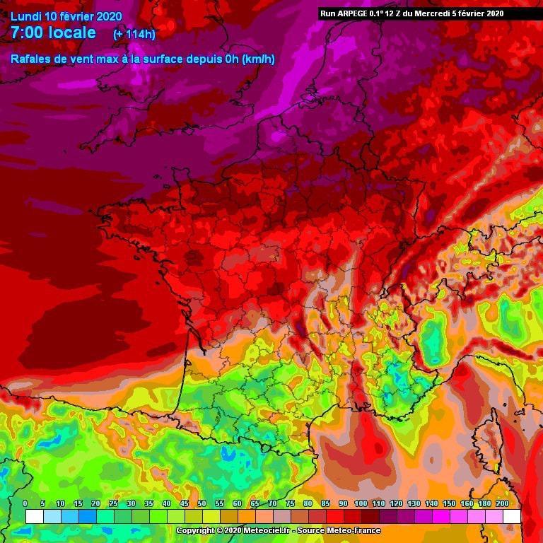 Fort potentiel tempétueux à partir de dimanche sur les Hauts-de-France !