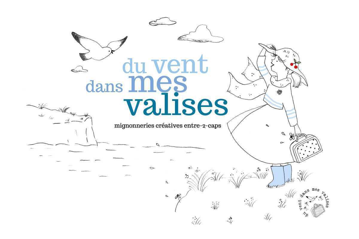"""Camille Doutriaux-Poulet - """" du vent dans mes valises"""""""