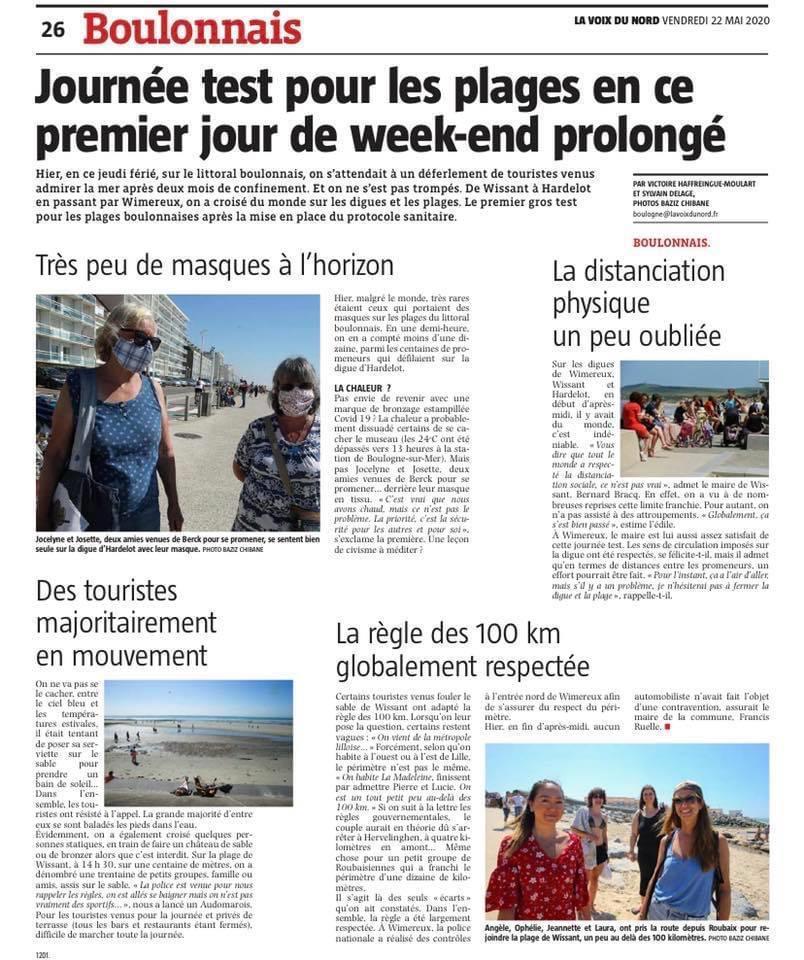 Journée test pour les plages du Boulonnais, en ce premier jour de week-end prolongé