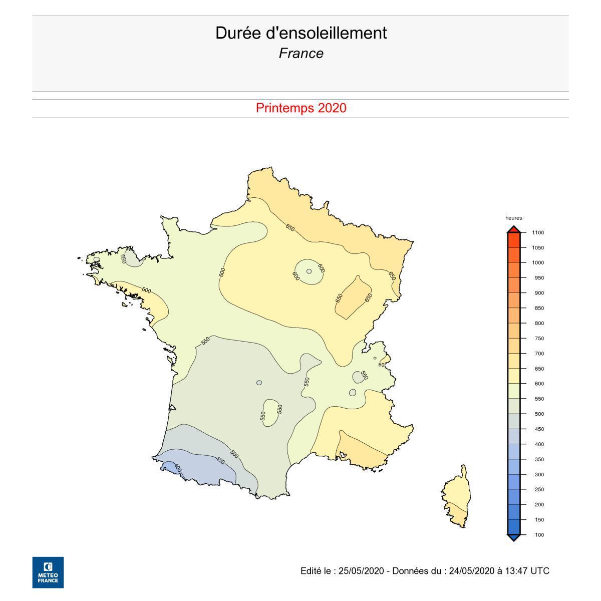 La Côte d'Opale, territoire le plus ensoleillé de France en ce printemps 2020 !