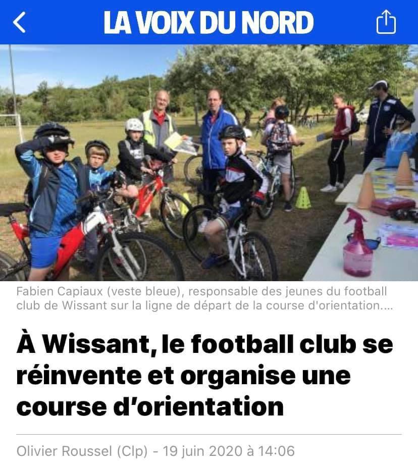 À Wissant, le football club se réinvente et organise une course d'orientation
