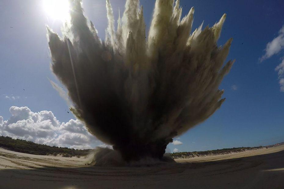 Wissant : la population confinée, trois bombes de la seconde guerre mondiale neutralisées